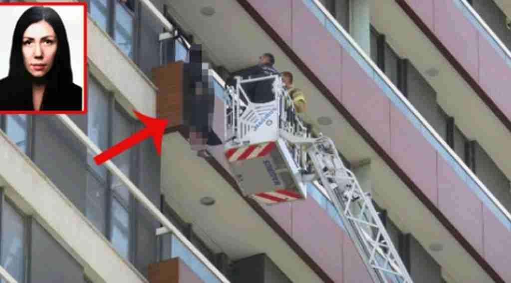 Lüks sitede korkunç olay, Ukraynalı kadın balkon korkuluklarında asılı bulundu