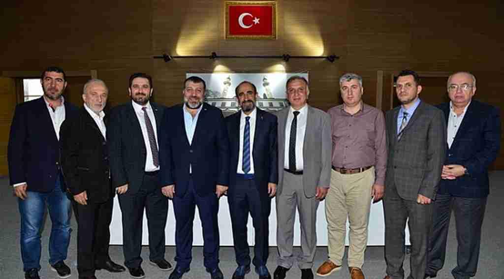 Başkan Edebali iş insanlarına projelerini anlattı - Bursa Haberleri