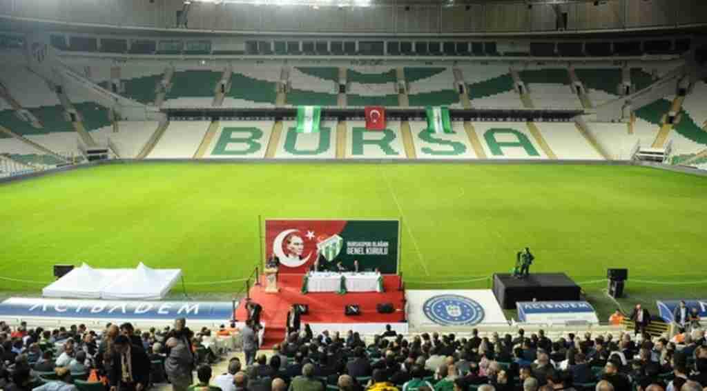 Bursaspor'da olağan genel kurulun ilk oturumu yapıldı - Bursa Haberleri