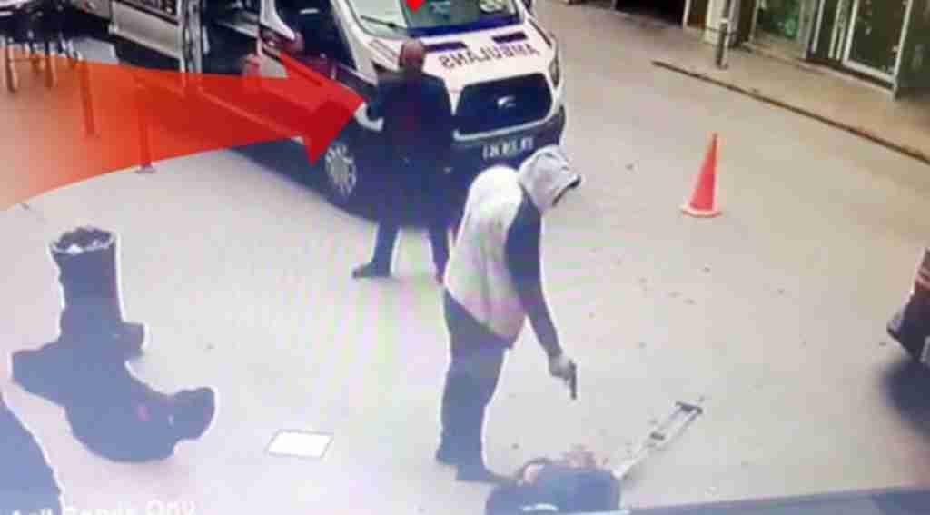 Hastane önündeki çifte infazda şok detay