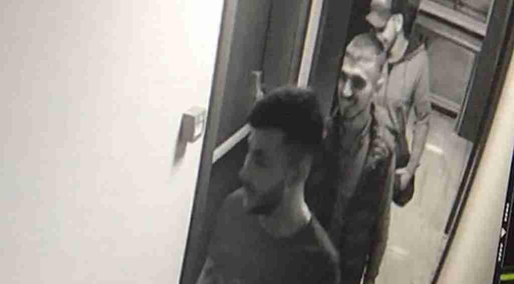 Hırsızlar lüks rezidansta alem yaparken yakalandı