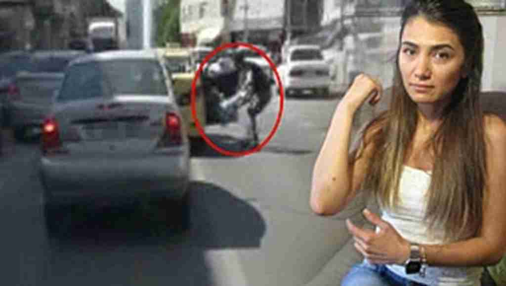 Kadın yolcuyu taksiden aşağı atan sürücü yakalandı