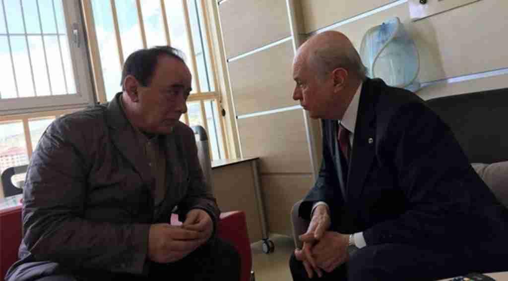 MHP lideri Bahçeli'den Çakıcı'ya ziyaret