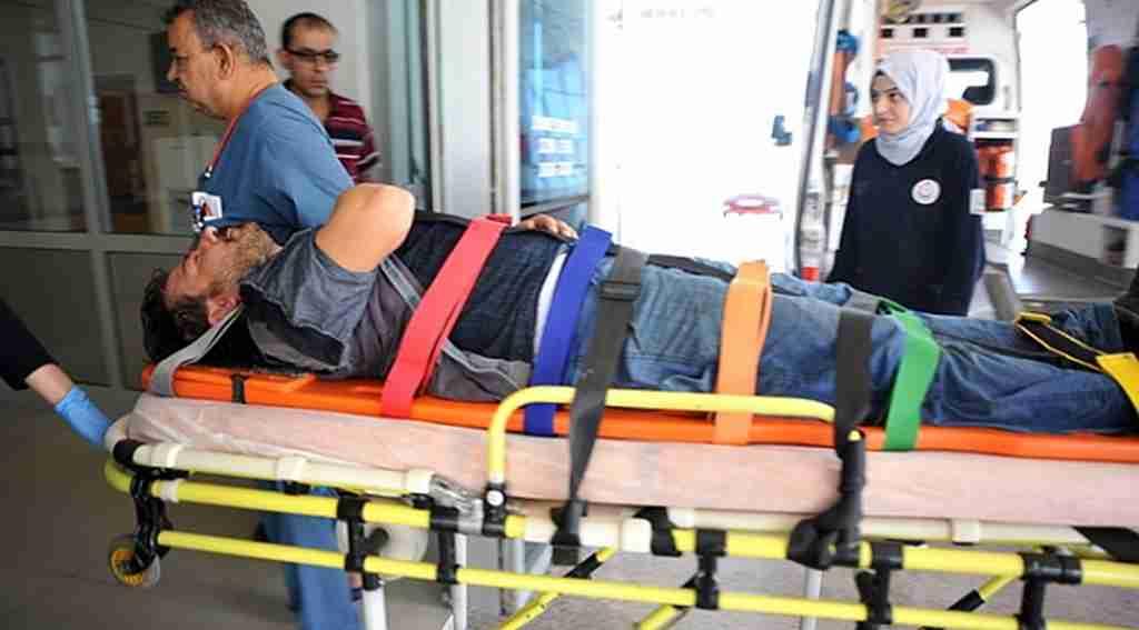 Tanker kapağı fırladı: 3 yaralı - Bursa Haberleri