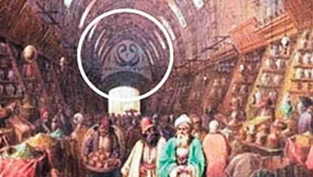 Tarihi Mısır Çarşısı'nın sembolü geri döndü