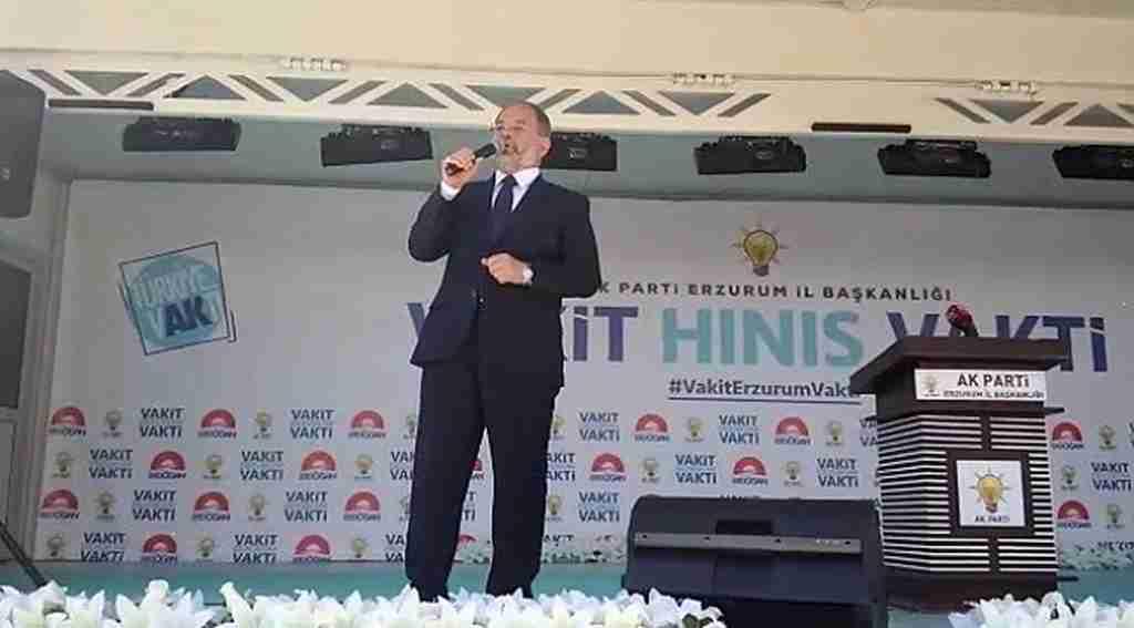 """Başbakan Yardımcısı Recep AkdağAkdağ, """"Terör örgütlerinin baskısına asla izin vermeyeceğiz"""""""