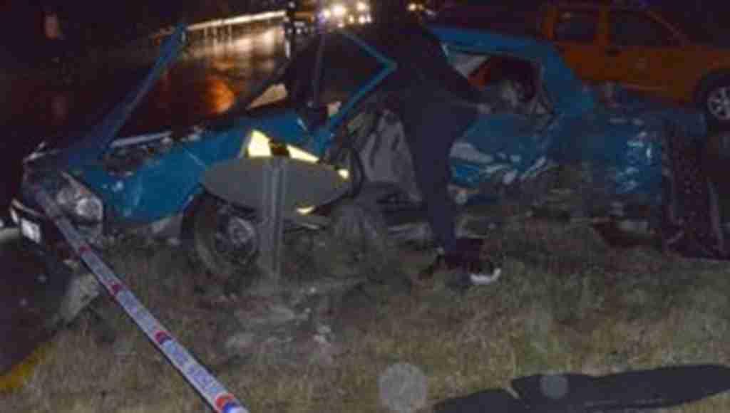 Bayram ziyareti dönüşünde katliam gibi trafik kazası: 6 Ölü, 2 Yaralı