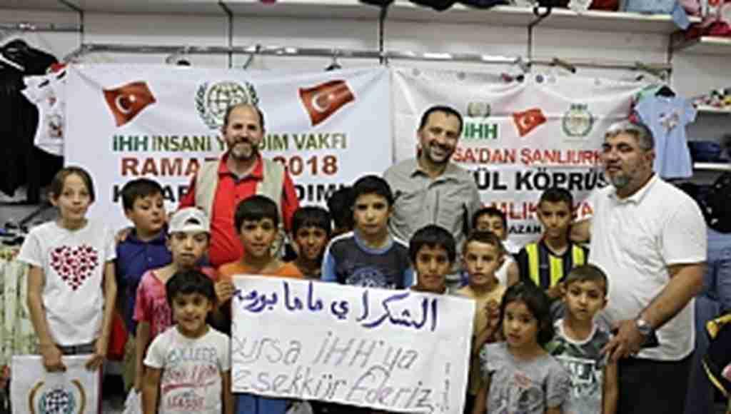 Bursa'dan Güneydoğu'ya 'Gönül Köprüsü' kuruldu - Bursa Haberleri