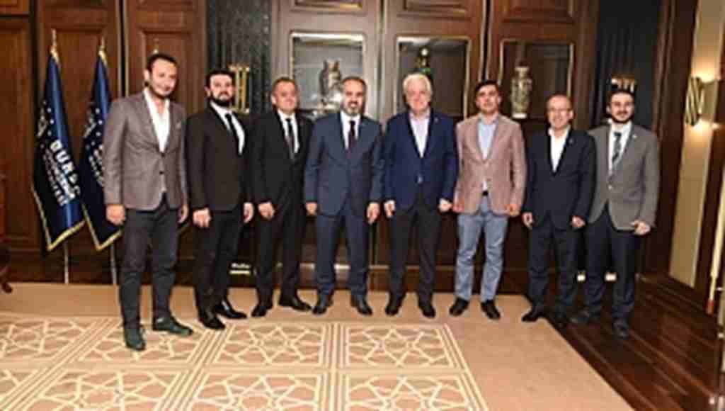 Bursaspor yönetimi Büyükşehir'de - Bursa Haberleri