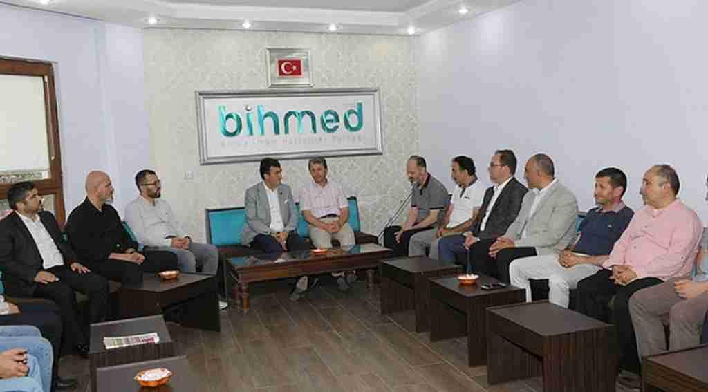 Dündar'dan BİHMED'e ziyaret - Bursa Haberleri