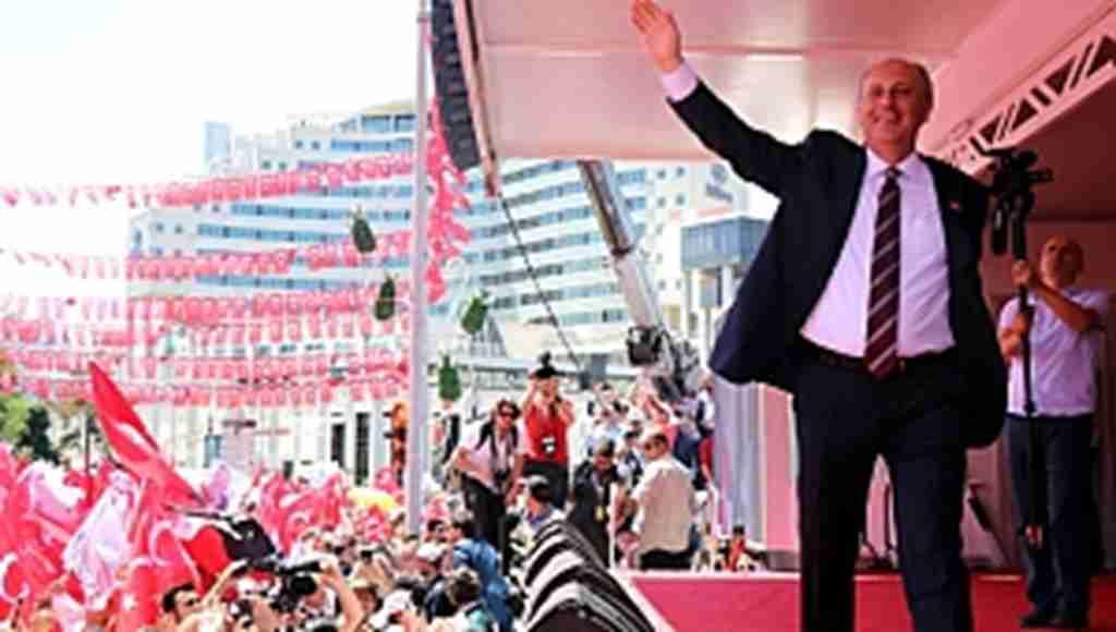 """Erdoğan'ın """"Mitinginde HDP'liler vardı"""" eleştirisine İnce'den yanıt"""