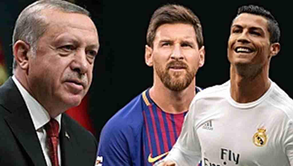 Erdoğan, 'Ronaldo mu Messi mi' sorusuna cevap verdi, alkış aldı