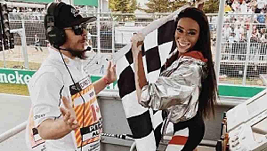 Formula 1'de kaos yaşandı, güzel model yarışı katletti