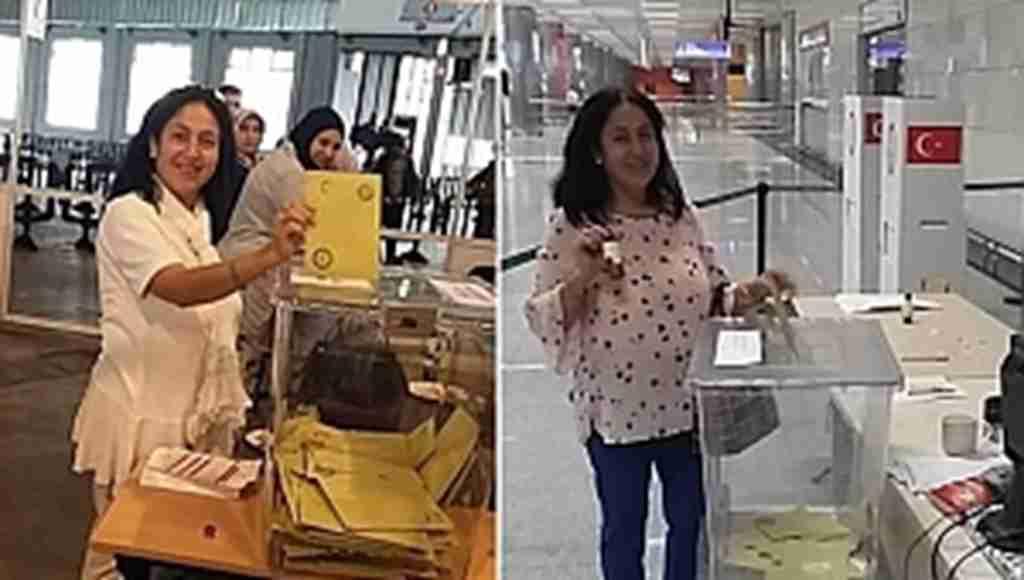İki kez oy' iddiasında gözaltına alınan kadın serbest bırakıldı