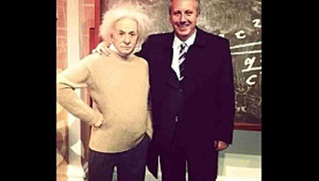 Muharrem İnce'den 'Einstein'lı paylaşım