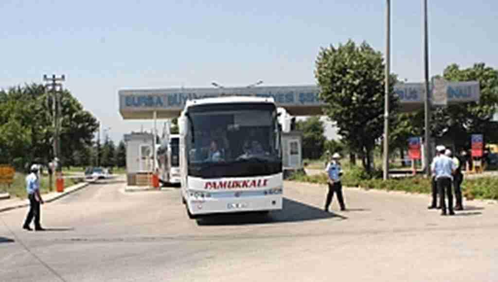 Otobüsler didik didik aranıyor - Bursa Haberleri