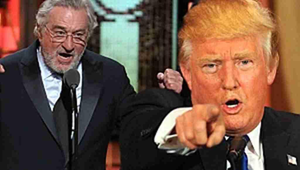 """Trump, kendisine küfreden de Niro'ya, """"Uyansana sarhoş"""""""