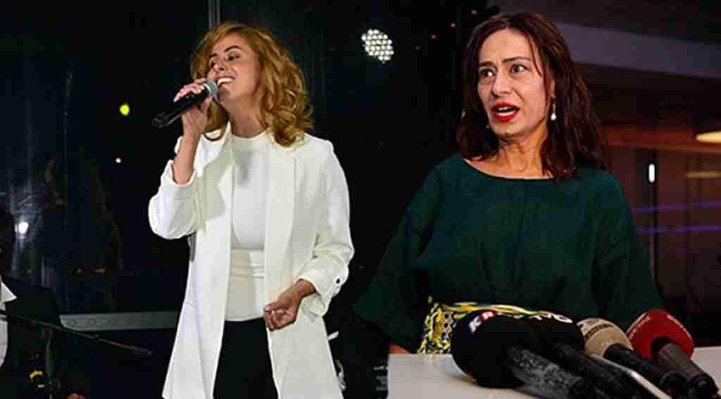 Yıldız Tilbe'nin iftar yemeğinde şarkı krizi!