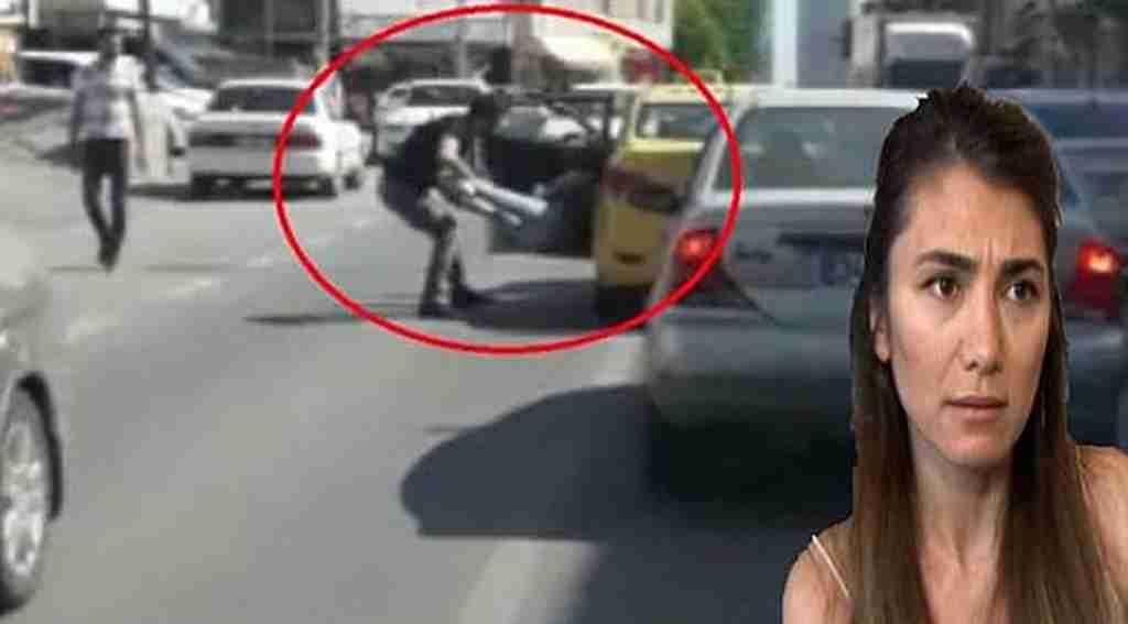 Yoldan geçen kadına saldıran taksici şimdi yandı, dava açıldı