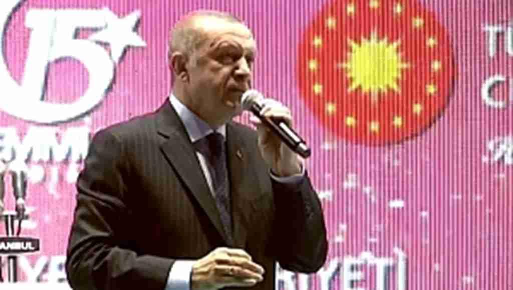Başkan Erdoğan'dan 15 Temmuz Şehitler Köprüsünde çarpıcı açıklamalar : ''Ahtapotun kollarını kestik''