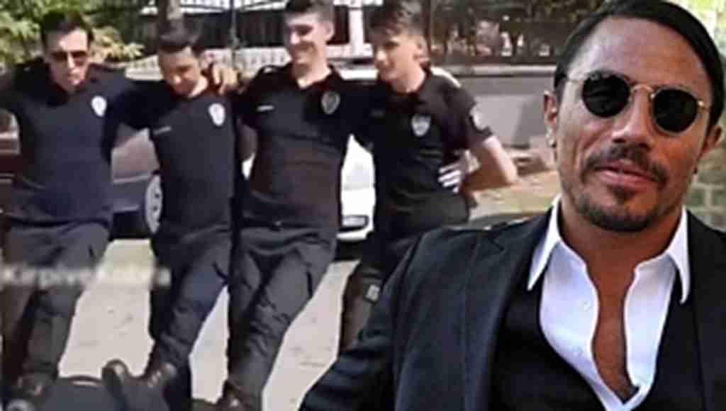 Çevik Kuvvet Polislerinin Nusret Halayı Sosyal Medyayı Salladı