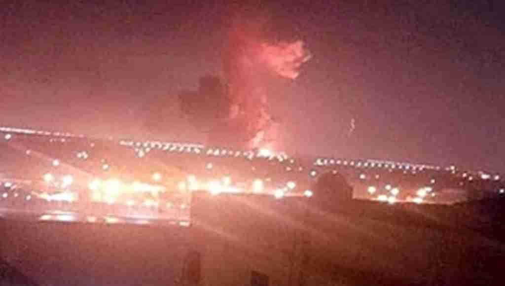 Son dakika! Kahire'de hava limanı yakınlarında büyük patlama! Tüm uçuşlar iptal edildi!