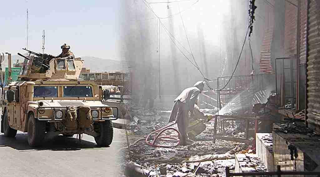 Afganistan'da askeri üsse saldırı: 45 ölü