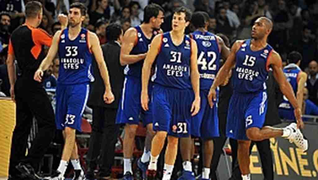 Anadolu Efes Basketbol Kulübü logosunu değiştirdi