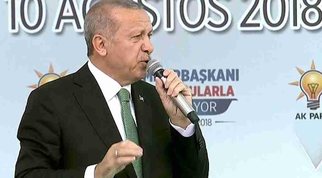 Başkan Erdoğan'dan döviz ve altın çağrısı : ''Yastığının altında doları, avrosu, altını olan varsa bunu gitsin Türk Lirası ile bankalarımızda bozdursun''