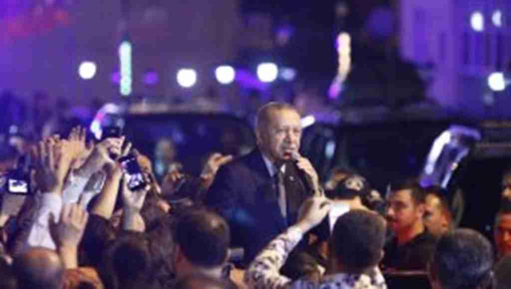 """Başkan Erdoğan, döviz kurundaki artış için: """"Onların dolarları varsa bizim de halkımız var, hakkımız var, Allahımız var"""""""