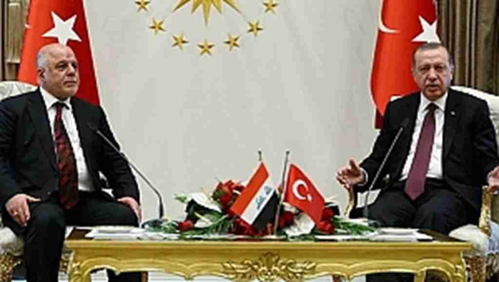 Başkan Erdoğan ile İbadi'den ortak basın toplantısı