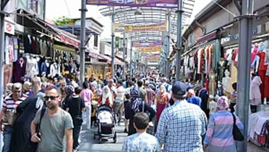 Çarşı pazarda bayram hareketliliği - Bursa Haberleri