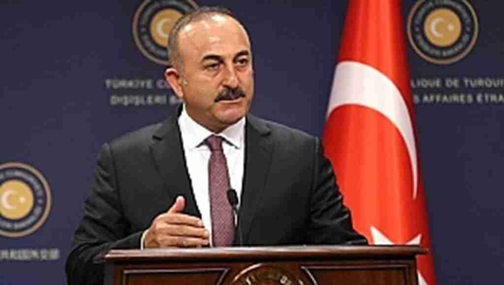 """Çavuşoğlu'ndan, net mesaj, """"Kimseye boyun eğmeyiz"""""""