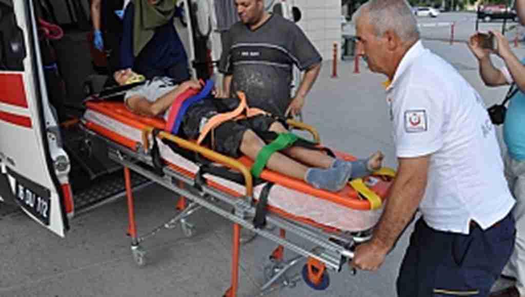 İnşaatın asansör boşluğuna düşen çocuk yaralandı - Bursa Haberleri