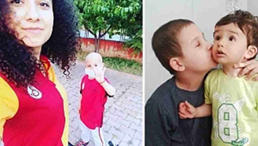Lösemi hastası minik Hasan'a 2 bin takipçiden destek
