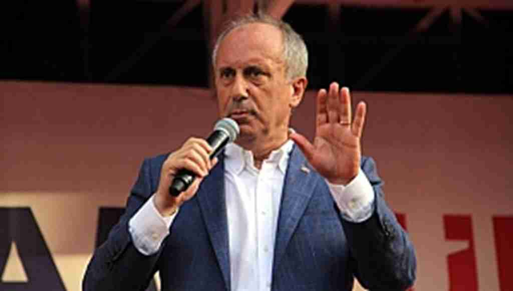 Muharrem İnce, Başkan Erdoğan'a ekonomi hakkında 4 maddelik çağrı:''Milletin felaketini engellemek için...''