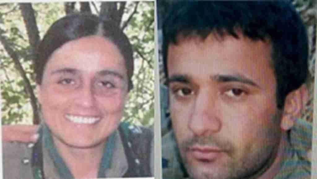 PKK'ya bir darbe daha, Turuncu listedeki iki isim öldürüldü