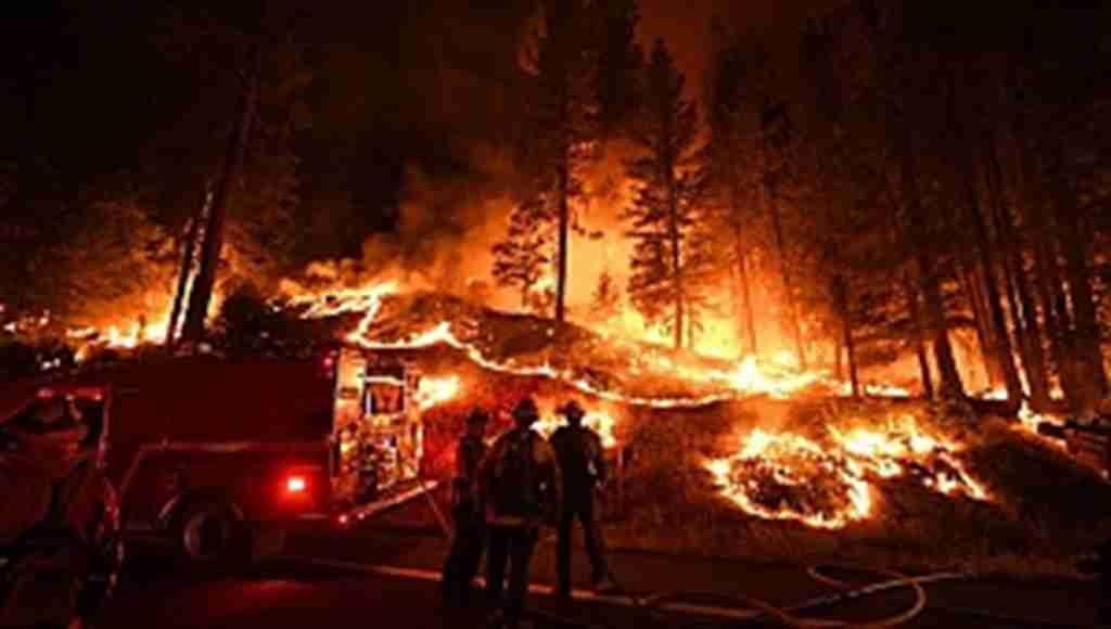 Yangın kontrol altına alınamıyor, 14 bin itfaiye eri müdahale ediyor