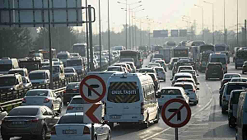 Bursa trafiğinde pazartesi alarmı - Bursa Haberleri