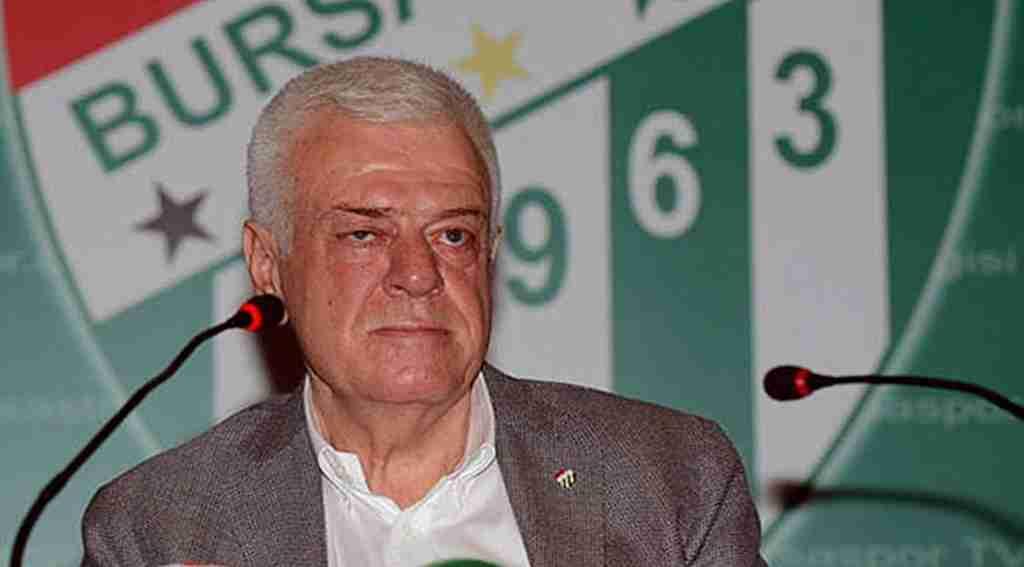 Bursaspor Başkanı Ali Ay yabancı oyuncu açıklaması