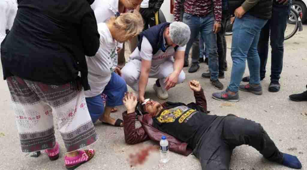 Kaza yerinden geçen anneyi ağlatan tesadüf - Bursa Haberleri