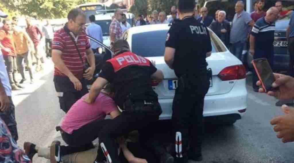 Otomobille çarptığı kadını dövdü, serbest kaldı - Bursa Haberleri