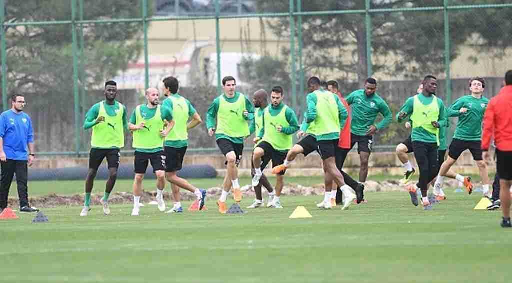 Bursaspor'da Galatasaray maçı hazırlıkları sürüyor - Bursa Haberleri