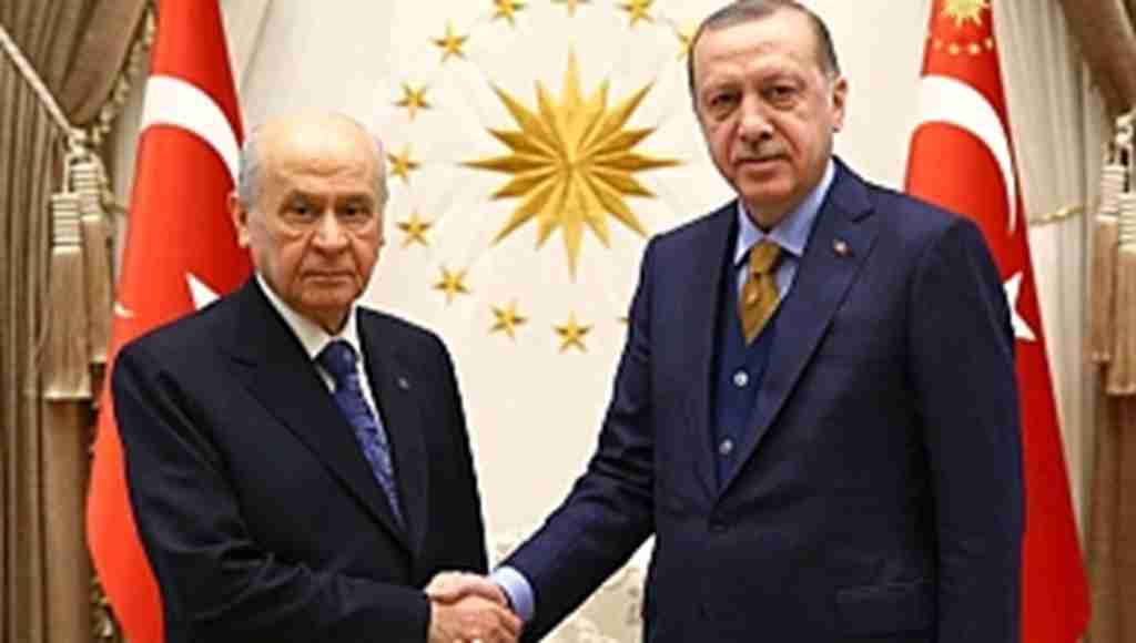 Erdoğan'ın afla ilgili sert çıkışına Bahçeli'den cevap