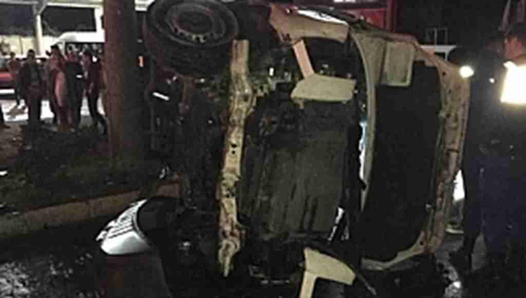 Feci trafik kazası: 1 ölü, 9 yaralı