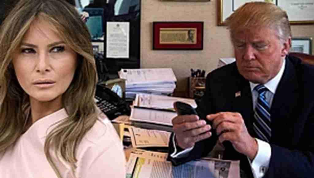 First Lady, Trump'ın telefonuna el koydu