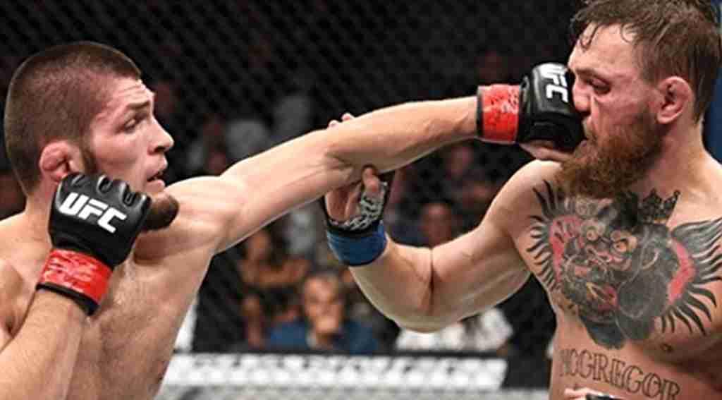 Nurmagomedov taraftarları, McGregor'u destekleyenleri dövdü