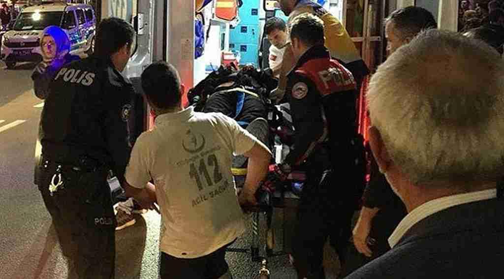 Polis memuru kontrol ettiği aracın sürücüsü tarafından sürüklenerek ağır yaralandı!