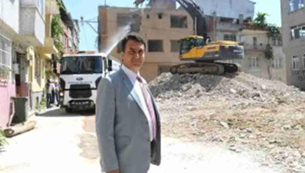 Soğanlı'da riskli alandaki 55 bina yıkıldı - Bursa Haberleri
