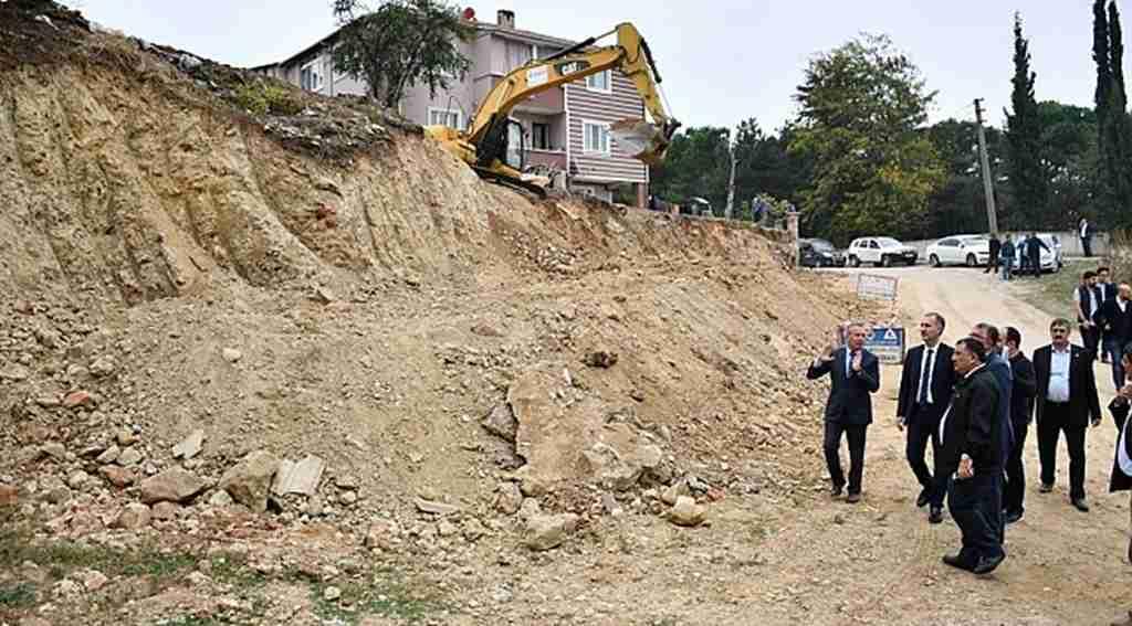 Yeniceköy'de heyelan riski ortadan kaldırılıyor - bursa Haberleri